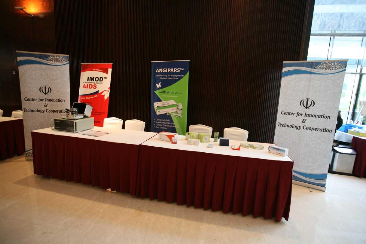 Event Reception Branding Indoor Branding Ideas